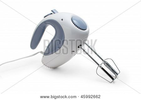 mixer kitchen beater gray blender cooking food hand close up iso