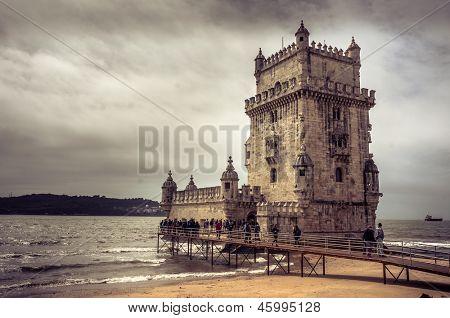 Tower of Belem (Torre de Belem) - Lisbon, Portugal