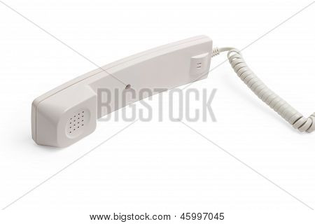 telephone phone communication tube cable connection isolated