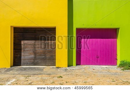 Bo Kaap, Cape Town 016-garages