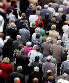 image of extremist  - Crowd of people - JPG