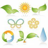 Environmental Icons poster