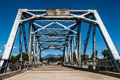 Route 66: Walnut Creek Bridge, Mt. Taylor, Winona, AZ