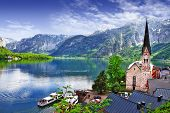 stock photo of medieval  - Hallstatt  - JPG