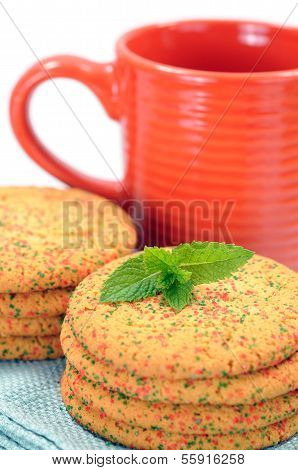 Sparkling Color Cookies