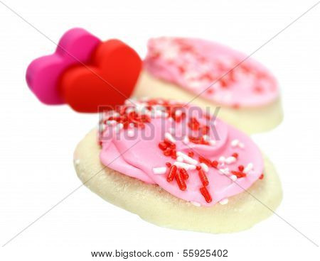 A Pair Of Valentine Cookies