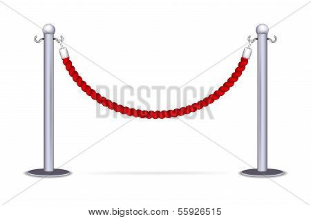 Barrier rope