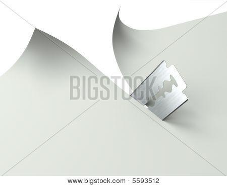 Rasierapparat-Klinge