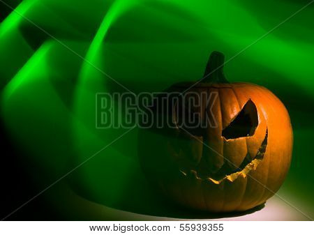 Haunted Jack-o-Lantern