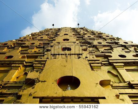 Golden Pagoda Kanchanaburi Province