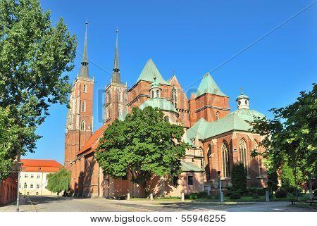Wroclaw. St. John The Baptist