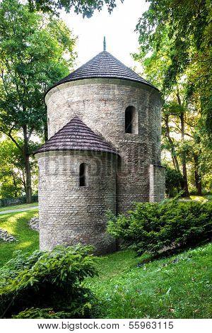 Cieszyn, Poland, Romanesque St Nicholas Rotunda