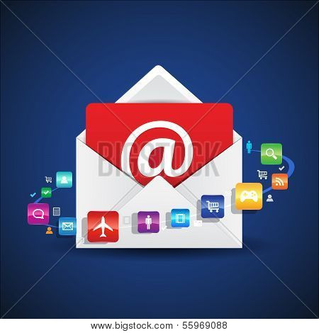 Contact Email Apps