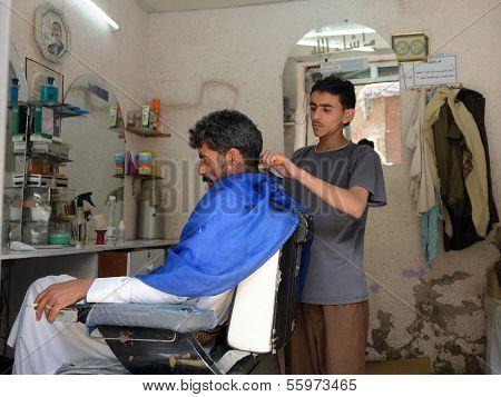 Barbershop, Yemen
