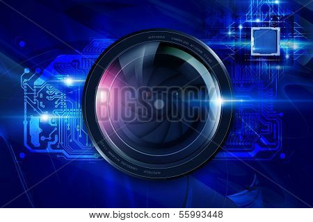 Lens And Circuit Board