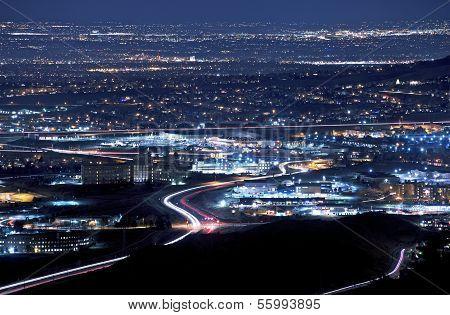 Denver Metro At Night