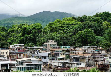 Traditional Village Houses In Hong Kong
