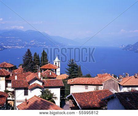 Lake Maggiore, Stresa, Italy.
