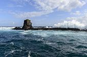 Breakwater At Santa Cruz, Azores Archipelago (portugal)