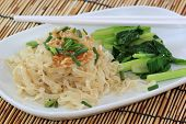 picture of egg noodles  - Chinese Style the vegetable with Egg Noodle - JPG