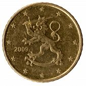 Finnish Coin Of 50 Cents