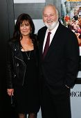 NEW YORK-DEC 17: Actor Rob Reiner (R) and wife Michelle Singer Reiner attend the premiere of