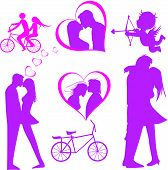 foto of tandem bicycle  - Doodle lovers - JPG