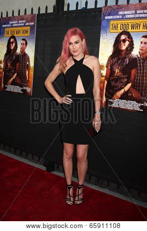 LOS ANGELES - MAY 30:  Rumer Willis at the