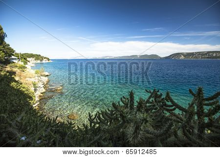 View of the Saronic Gulf at Greece