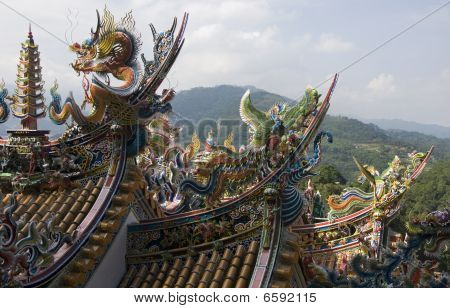 Temple Architecture, Taiwan