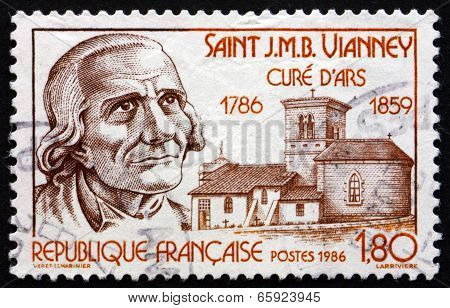 Postage Stamp France 1986 St. Jean-marie Vianney, Cure Of Ars