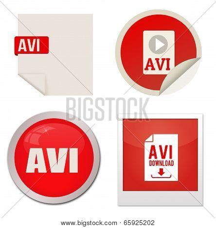 Avi Icon Set