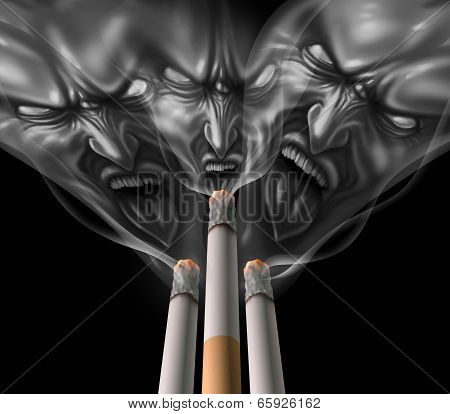 Smoking Cigarette