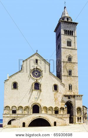 Trani Cathedral In Apulia, Italy