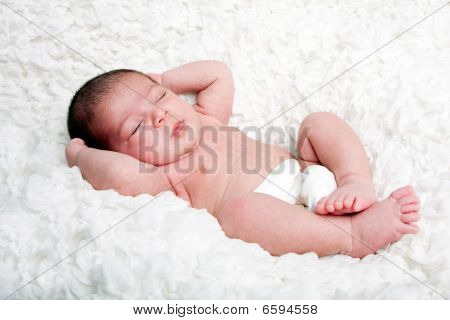 Cute Infant Closeup