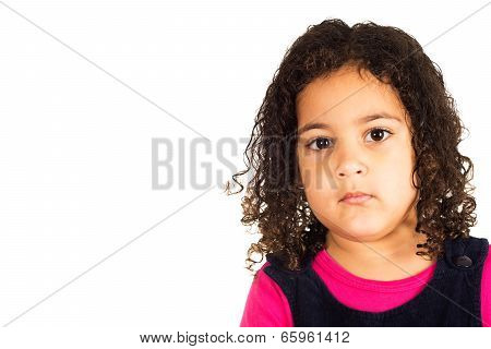 Child Portrait Isolated