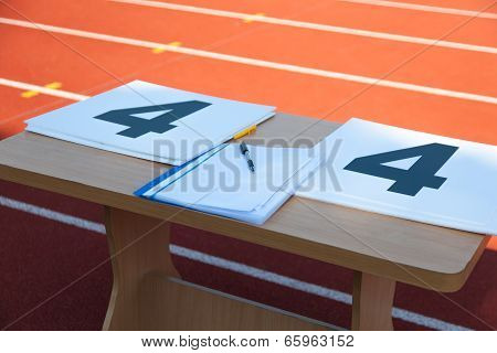 Table With Notes Referee
