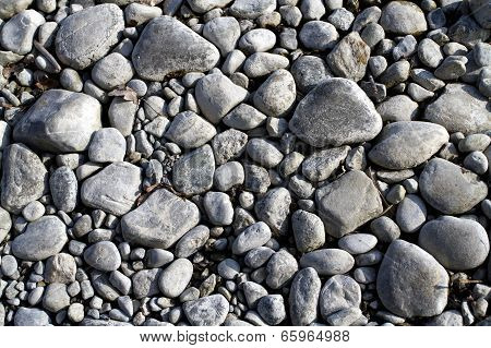 Gray Sea Pebbles