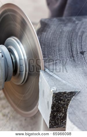 Rough Machining Of Solid Stone Grinder