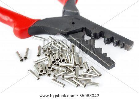 Scrimping pliers