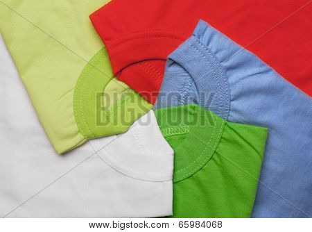 bright t-shirt background