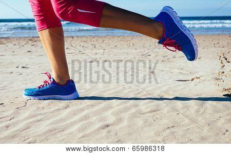 Running At Beach