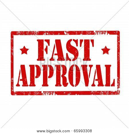 Fast Approval-stamp