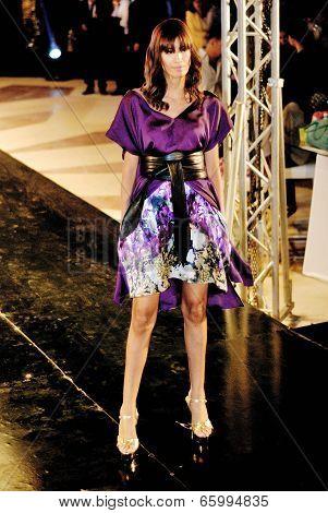 Fashion Show For Dina El Kei Model 01
