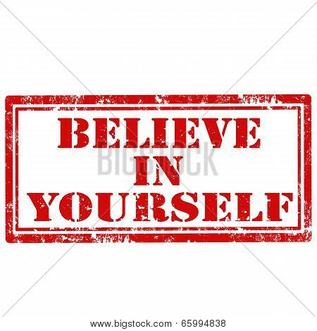 Believe In Yourself-stamp