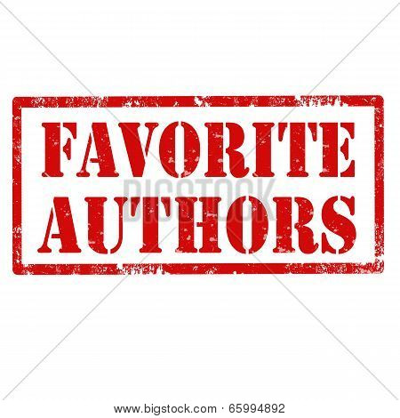 Favorite Authors-stamp