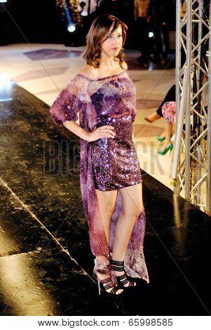 Fashion Show For Dina El Kei Model 17 (side)