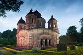 picture of radha  - Shyamroy Temple Bishnupur India  - JPG