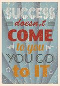 foto of letter t  - Vintage motivational quote typography - JPG