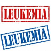 stock photo of leukemia  - Set of grunge rubber stamps with text Leukemia - JPG